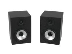 OMNITRONIC PME-5 Studio Monitors 2x