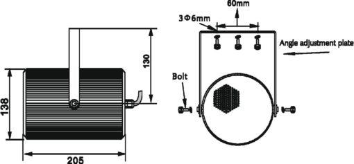 OMNITRONIC PS-15 Projector Speaker