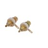 OMNITRONIC RCA mounting socket gold-plated 2x