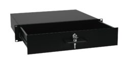 OMNITRONIC Rack Drawer with Lock 2U