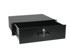OMNITRONIC Rack Drawer with Lock 3U