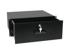 OMNITRONIC Rack Drawer with Lock 4U