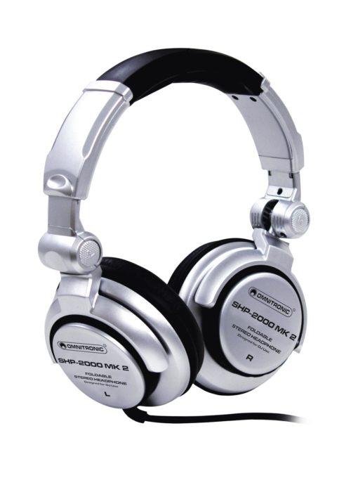 OMNITRONIC SHP-2000 MK2 DJ Headphones