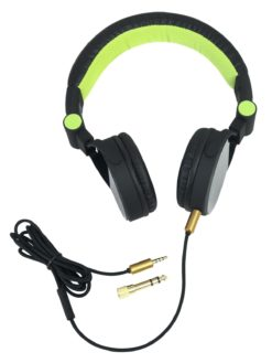 OMNITRONIC SHP-i3 Stereo Headphones green
