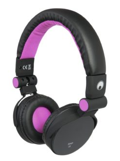 OMNITRONIC SHP-i3 Stereo Headphones pink