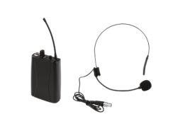 OMNITRONIC Set WMT-1M UHF transmitter + UHF-502 headset