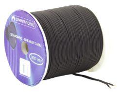OMNITRONIC Speaker cable 2x1.5 100m bk