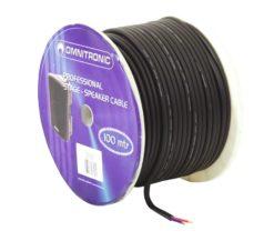 OMNITRONIC Speaker cable 2x2.5 100m bk durable