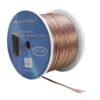 OMNITRONIC Speaker cable 2x2.5 100m clear