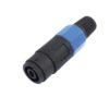 OMNITRONIC Speaker cable socket, 2-pin