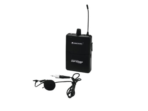 OMNITRONIC UHF-100 BP Bodypack 825.3MHz (yellow)
