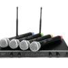 OMNITRONIC UHF-104 Wireless Mic System 828.1/830.3/864.8/863.8MH
