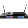 OMNITRONIC UHF-502 2-Channel Wireless Mic System 863-865 MHz
