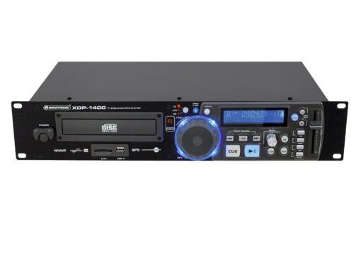 OMNITRONIC XDP-1400 CD/MP3 player