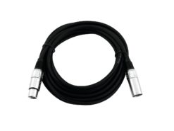OMNITRONIC XLR cable 3pin 1.5m bk