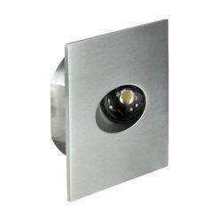 Oslo-SQ 3000 K 1 x LED Bianco Caldo da 1W, direzione della luce: basso/diretta