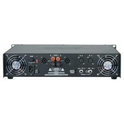 P-400 Amplificatore di potenza stereo, argento