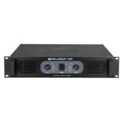 P-500 Amplificatore 2U ad alta potenza classe AB stereo PA, Nero