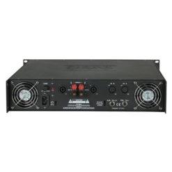 P-700 Amplificatore 2U ad alta potenza classe AB stereo PA, Nero
