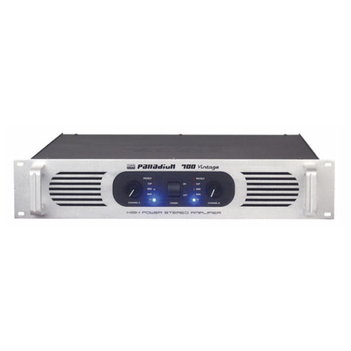 P-700 Amplificatore 2U ad alta potenza classe AB stereo PA, argento