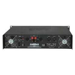 P-900 Amplificatore 2U ad alta potenza classe AB stereo PA, Nero