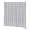 P&D curtain - Dimout Con pieghe, 300(l) x 300(h)cm, 260 Gram/M2, Bianco