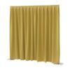 P&D curtain - Dimout Con pieghe, 300(l) x 300(h)cm, 260 Gram/M2, Giallo
