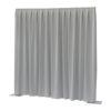 P&D curtain - Dimout Con pieghe, 300(l) x 300(h)cm, 260 Gram/M2, Grigio chiaro