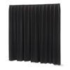 P&D curtain - Dimout Con pieghe, 300(l) x 400(h)cm 260 Gram/M2, Nero
