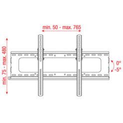 """PLB-3260 Staffa per LCD da 32"""" - 60"""""""