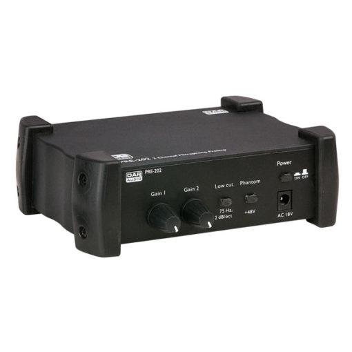 PRE-202 Preamp microfonico a 2 canali