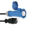 PSSO Adaptercable Safety Plug(M)/CEE 2.5
