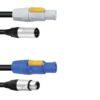 PSSO Combi Cable DMX PowerCon/XLR 3m