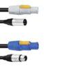 PSSO Combi cable DMX PowerCon/XLR 10m