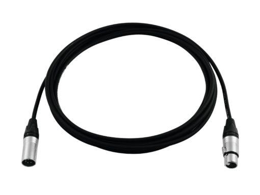 PSSO DMX cable XLR 5pin 15m bk Neutrik