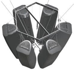 PSSO Flying bracket hexagonal CSA/CSK