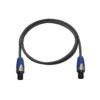 PSSO Speaker cable Speakon 2x1.5 15m bk