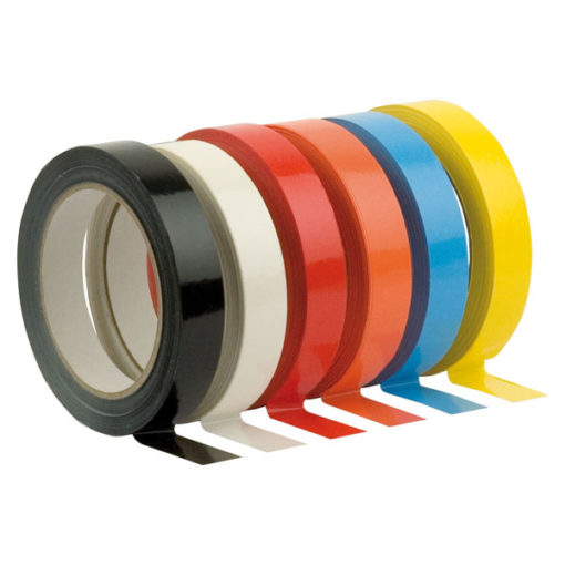 PVC Tape 19 mm/66 m, Rosso