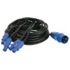 Power Cable CEE - Powercon 12mtr, 4 uscite Powercon