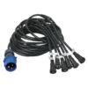 Power Cable for E/F Series Split cavo split per massimo 30 pannelli