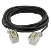 Power Multicable 6 Pole male-female 10 m, 6 x 1,5 mm2