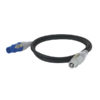 Powercable Blue/White Pro Power Connector 300cm, 3 x 1,5mm2