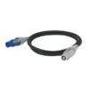 Powercable Blue/White Pro Power Connector 600cm, 3 x 1,5mm2