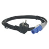 Powercable Pro Power connector to Schuko 6 m, 3x 1,5 mm2