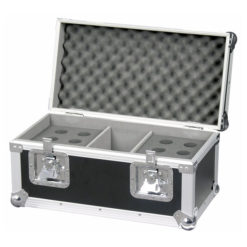 Pro Case for 12 mics Baule professionale per 12 microfoni