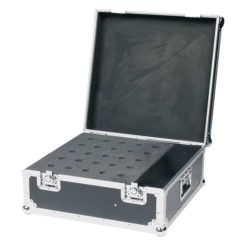 Pro Case for 25 mics Baule professionale per 25 microfoni