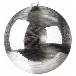 Professional Mirrorball 40 cm 5 x 5 mm Sfera specchiata senza motore, 40 cm