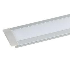 Profile Pro 1 Recessed Anodizzazione naturale dell'alluminio