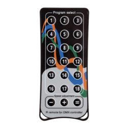 Quick DMX IR Remote Telecomando opzionale per 512 plus