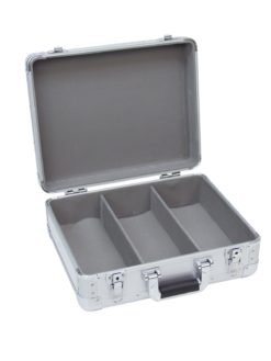 ROADINGER CD Case ALU Digital Booking rounded sil